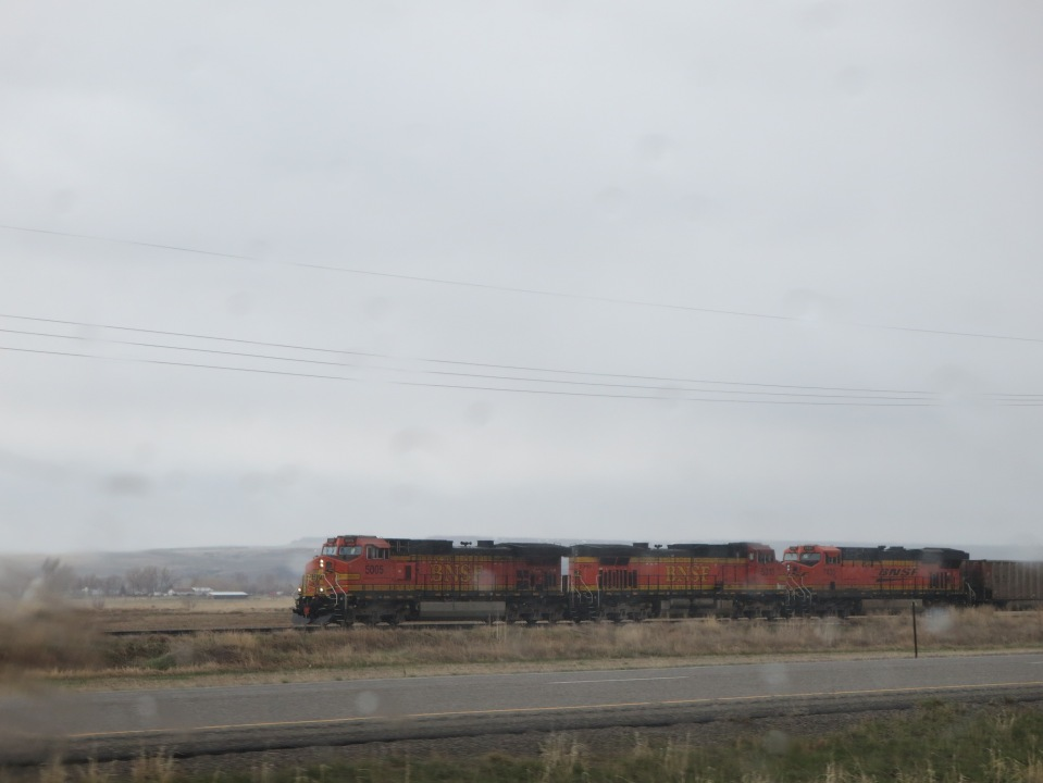 Heading home saw the BNSF  again.