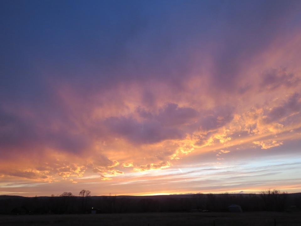 Sunset May 3, 2014